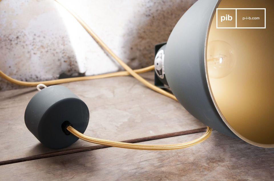 Una lampada con un autentico stile industriale