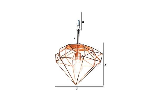 Dimensioni del prodotto Lampadario Sancy