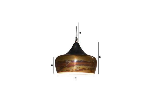 Dimensioni del prodotto Lampadario Skaal