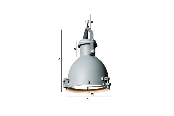 Dimensioni del prodotto Lampadario Spitzmüller