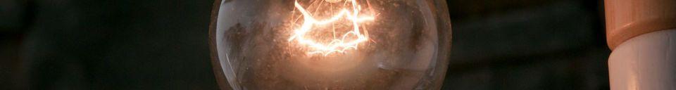 Materiali prima di tutto Lampadina Deco Edison 25 watt