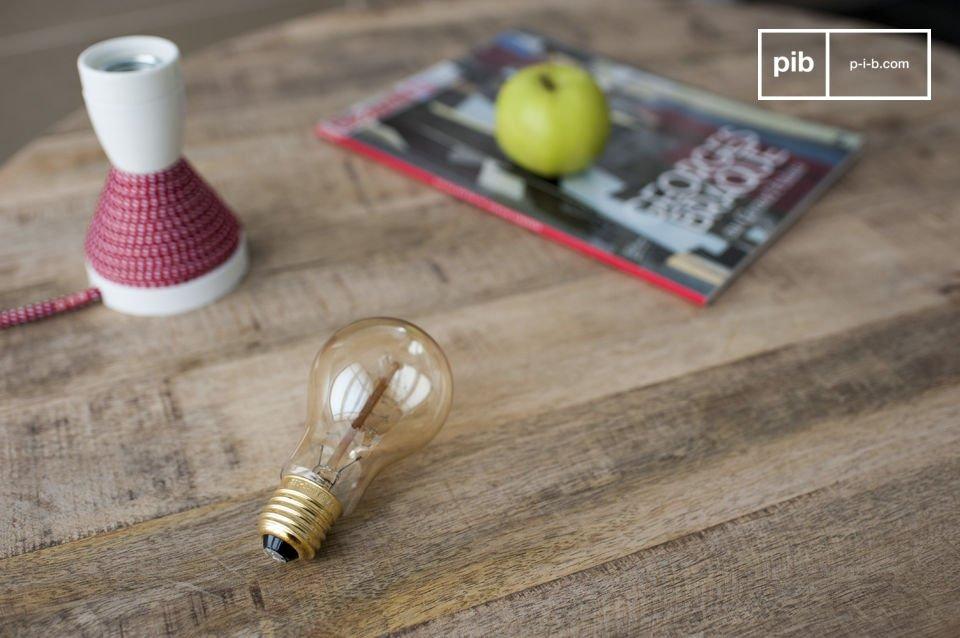 Lo stile di una lampadina in stile retro