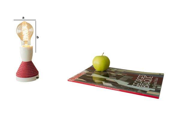 Dimensioni del prodotto Lampadina decorativa