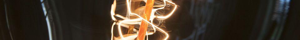 Materiali prima di tutto Lampadina gigante a filamento lungo
