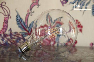Lampadina LED 13 cm con filamento