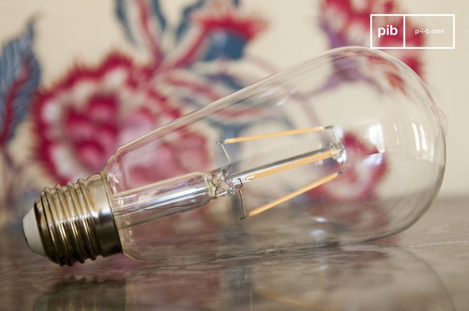 Lampadina LED lunga vecchio filamento