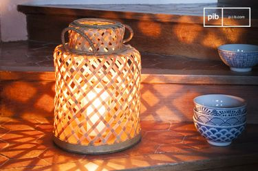 Lanterna in bambu Saïgon