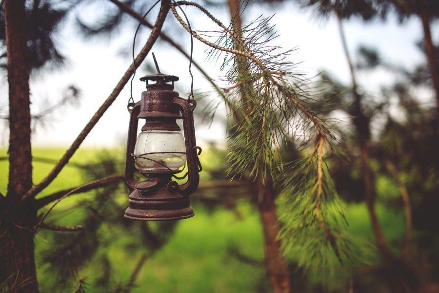lanterna per il giardino
