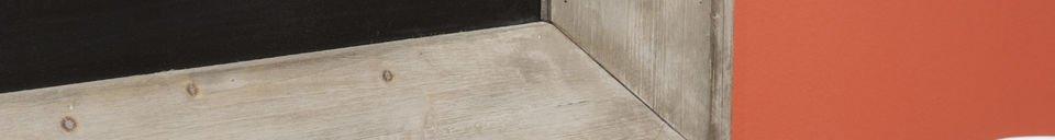 Materiali prima di tutto Lavagna da birreria 122x83 cm
