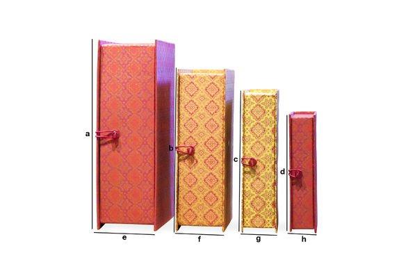 Dimensioni del prodotto Le scatole del Dottor Vincent