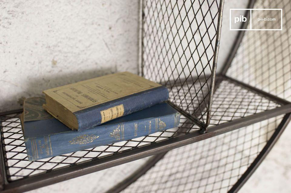 La libreria a parete Flèxe è un pezzo d\'arredamento unico nel suo genere: la sua struttura