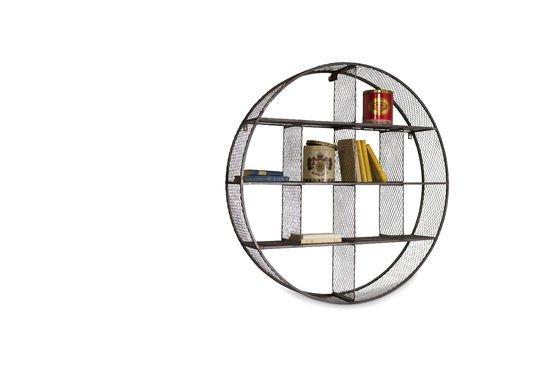 Libreria a parete fl xe pratica forma circolare pib for Scaffali a parete