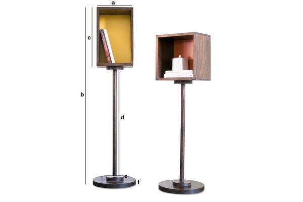 Dimensioni del prodotto Libreria gialla Youmi