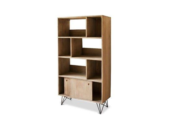 Libreria in legno Zurich Foto ritagliata