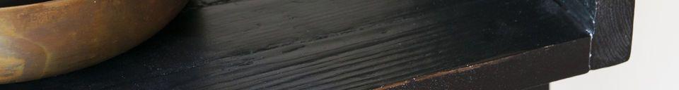 Materiali prima di tutto Librieria in legno nero a grande scala