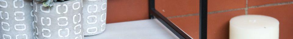 Materiali prima di tutto Mensola modulare in marmo Bridget