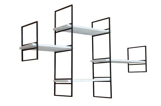 Mensola modulare in marmo Bridget Foto ritagliata