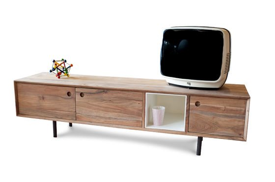 mobile da tv vintage bascole un design contemporaneo pib. Black Bedroom Furniture Sets. Home Design Ideas