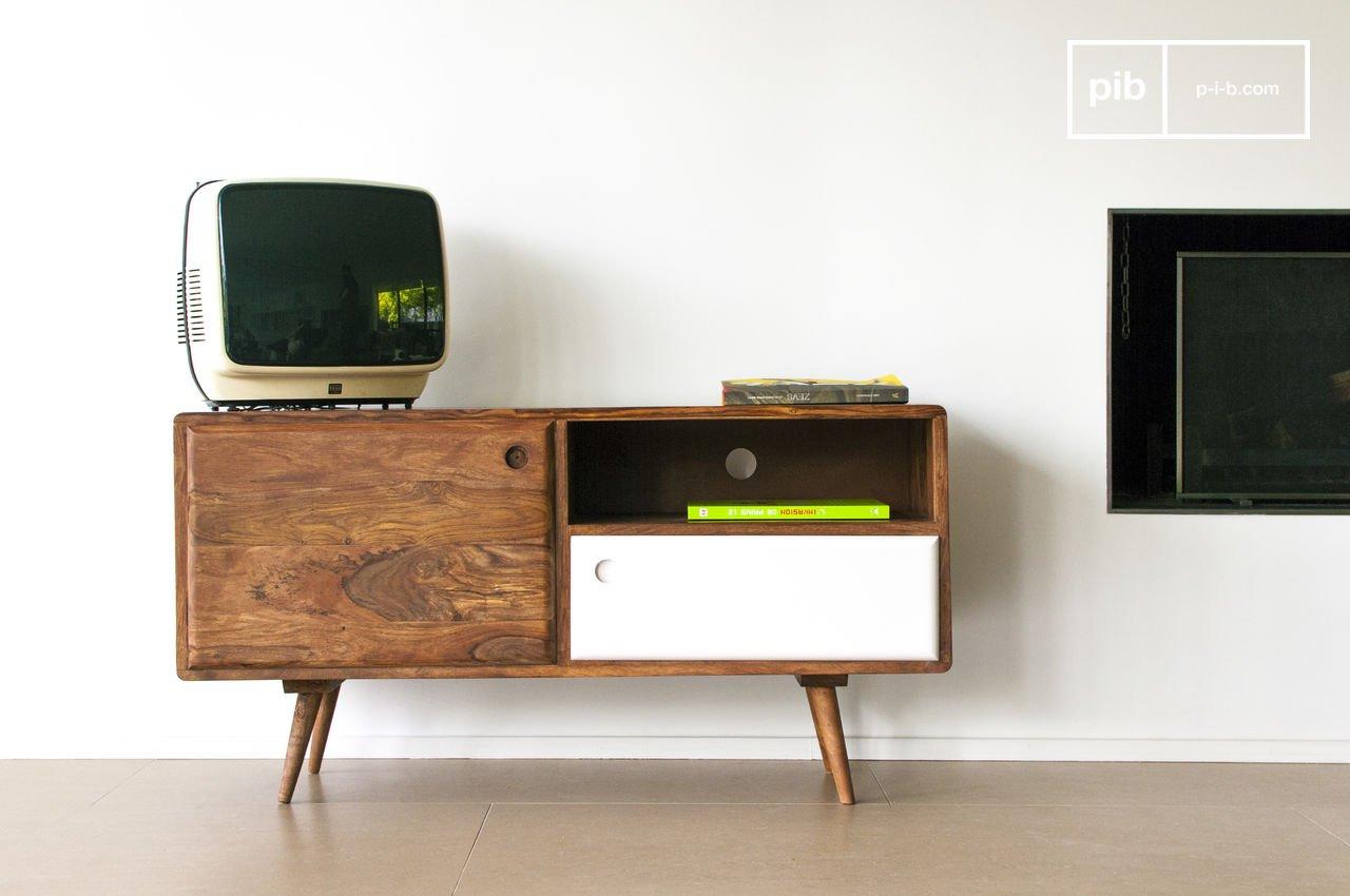 mobile tv 1969 - praticità ed eleganza in stile scandinavo | pib - Mobili Porta Tv Legno