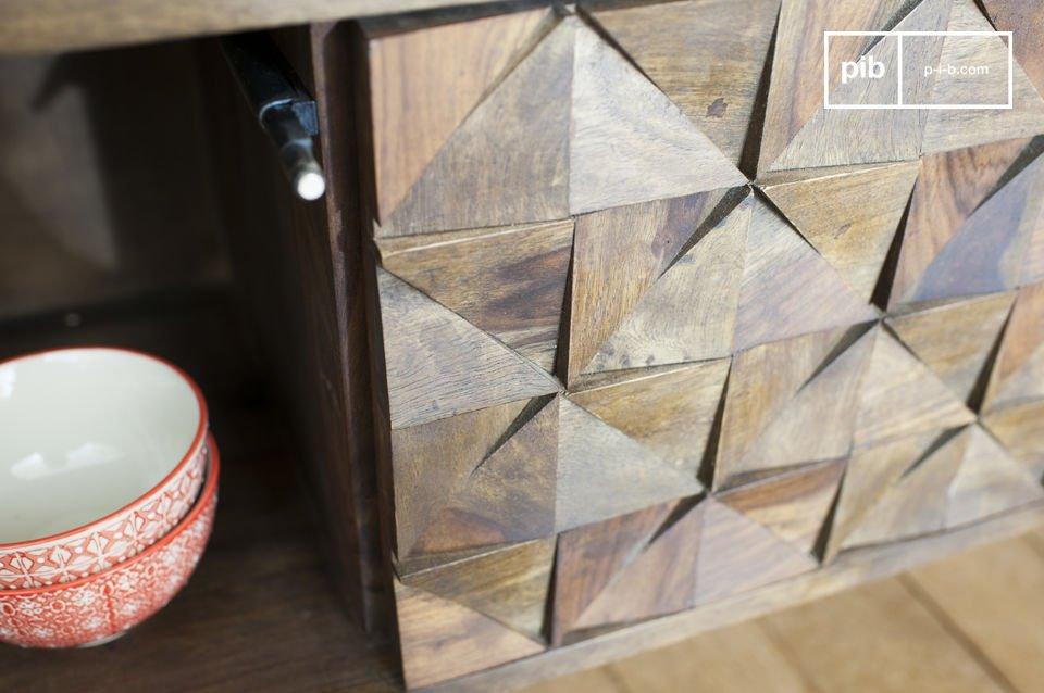 Combinando legno scuro
