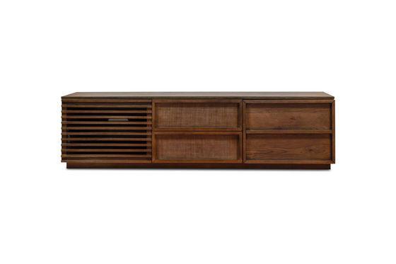 Mobile TV in legno Jake Foto ritagliata