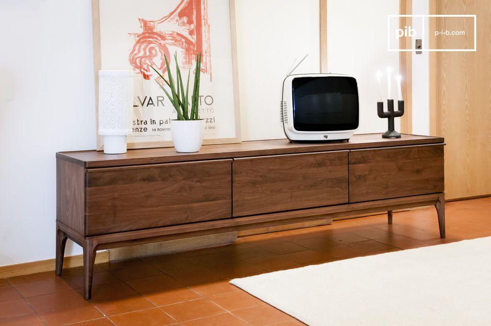 Grande formato, praticità e l'eleganza di un legno nobile
