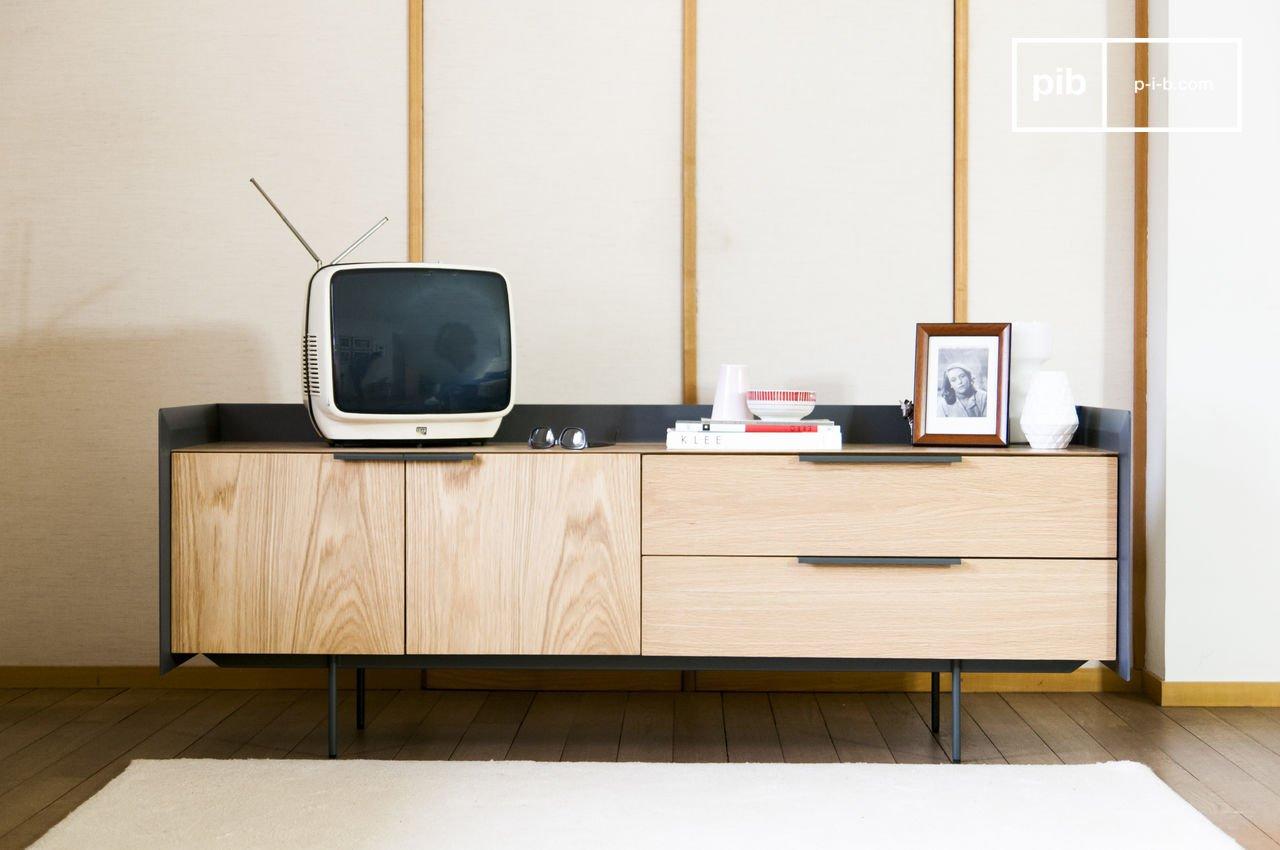 mobile tv moderno - design scandinavo | pib - Mobili Tv Bassi Moderni