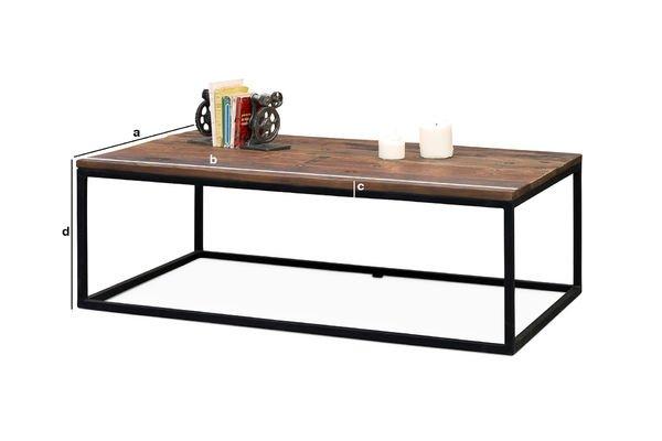 Dimensioni del prodotto Nuovo tavolino Soho