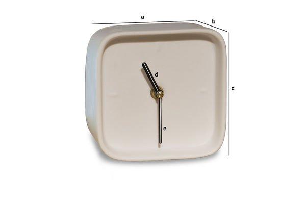 Dimensioni del prodotto Orologio di porcellana Fjorden