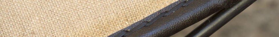 Materiali prima di tutto Panca pieghevole Tabasco