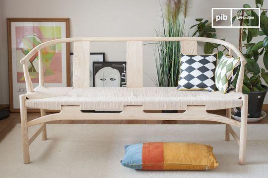 Panchina in legno Mäntta