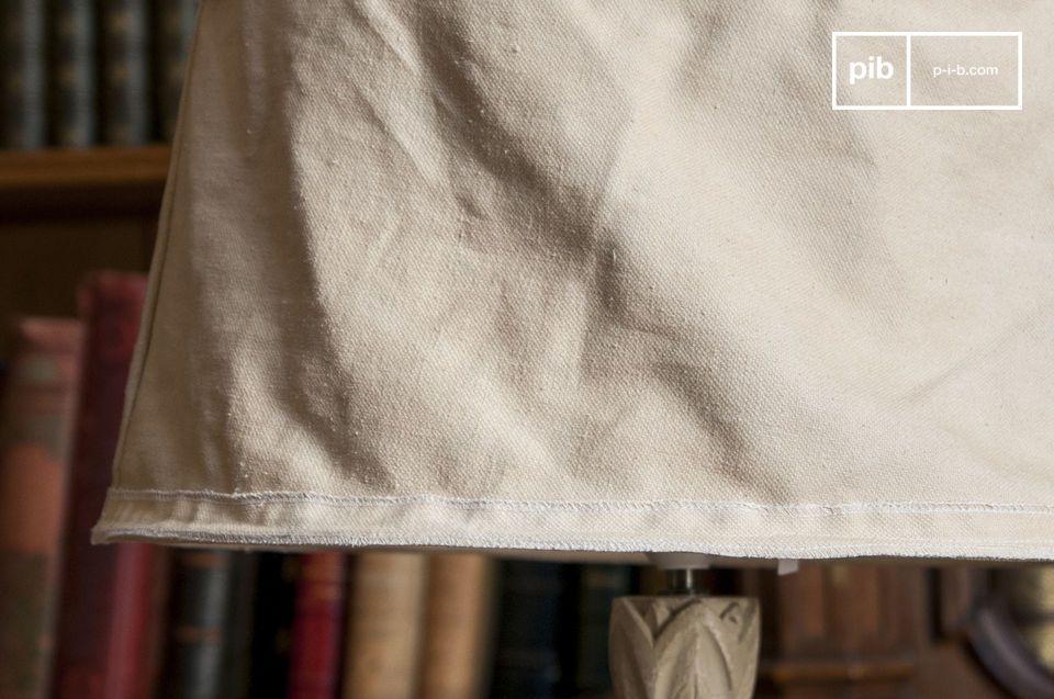 Il fascino del tessuto riciclato per un grande diametro da 45 cm