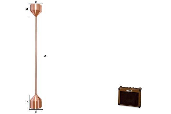 Dimensioni del prodotto Piantana Käsipa