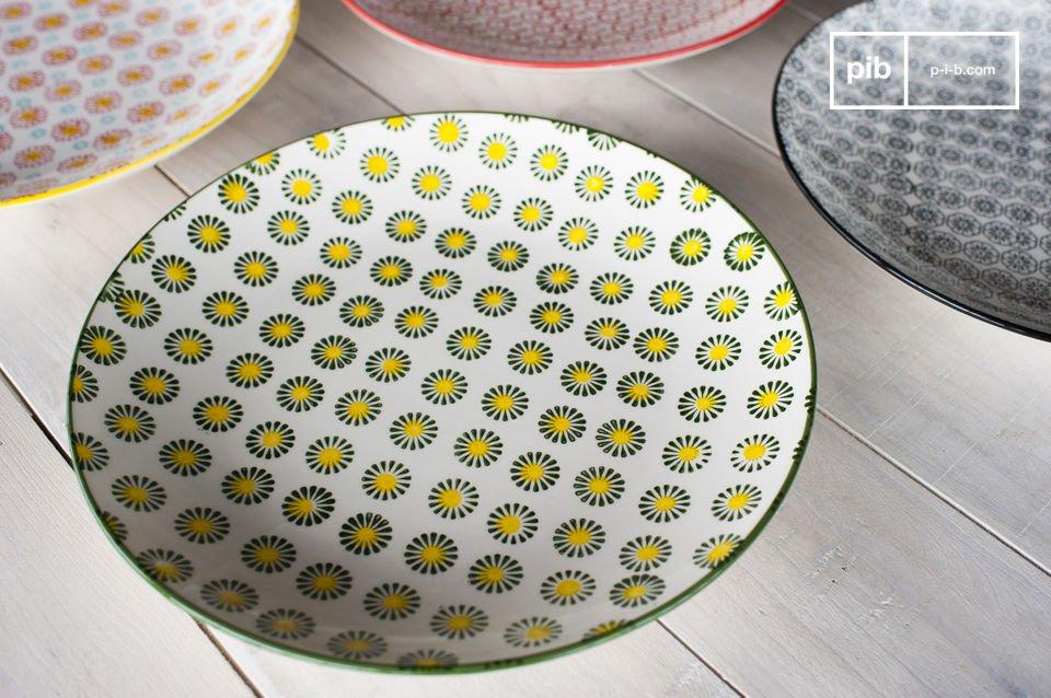 I piatti rotondi Julia conferiranno un charm retro ai vostri interni e soprattutto alla decorazione