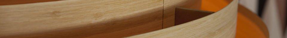Materiali prima di tutto Plafoniera Bamboo