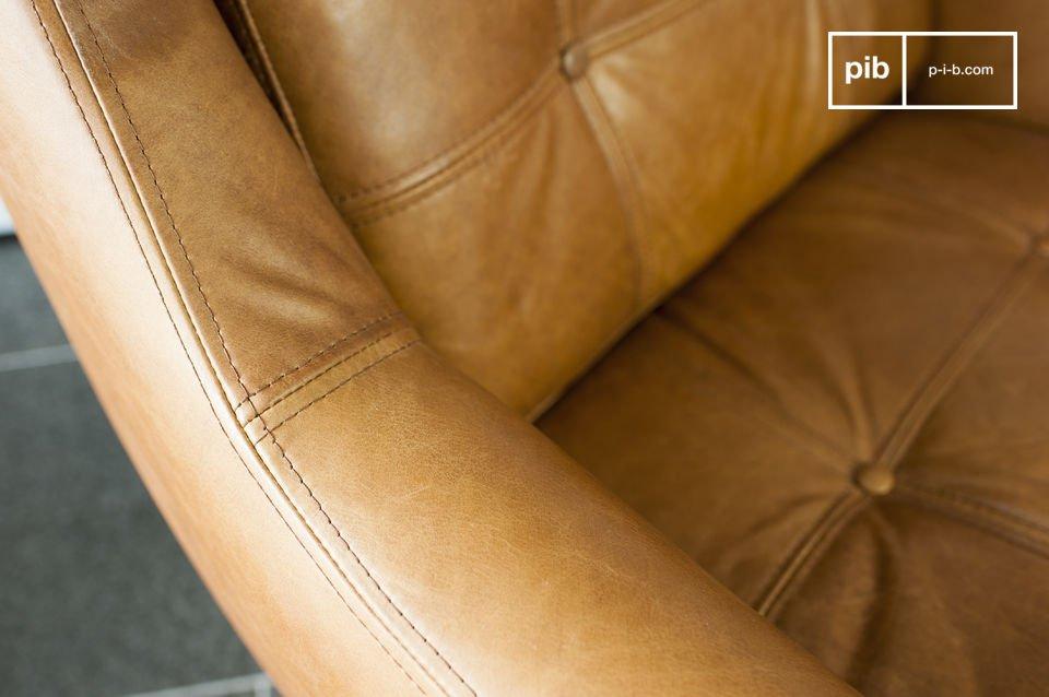 Lo spessore dei cuscini e la sua dimensione generosa