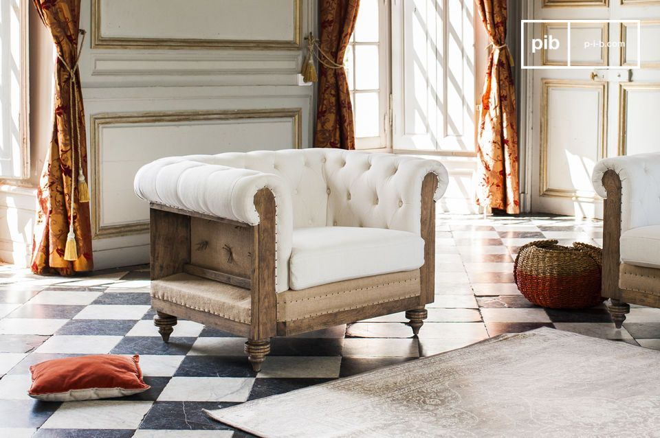 Poltrona Chesterfield Montaigu