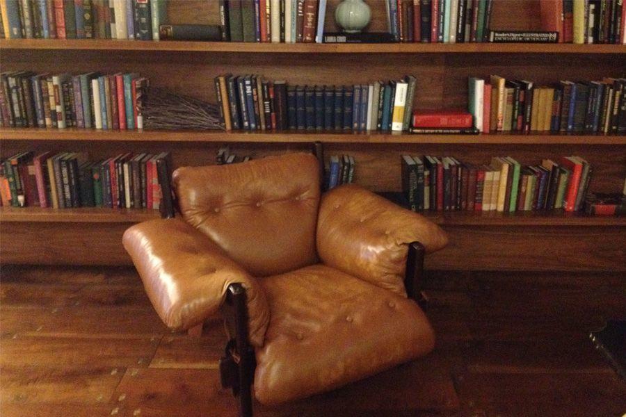 poltrona con libreria