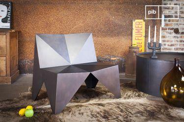 Poltrona di metallo Polygone