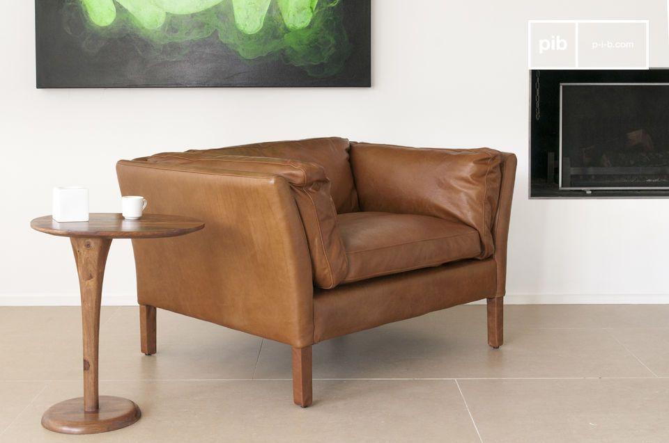 Design vintage, eleganza e pelle di qualità.