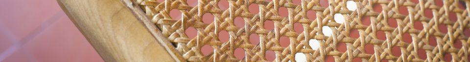 Materiali prima di tutto Poltrona in bambù Thisted