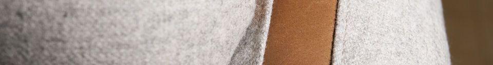 Materiali prima di tutto Poltrona in lana Britta