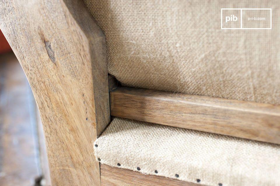 Sia per quanto riguarda la struttura che per quanto riguarda il sedile
