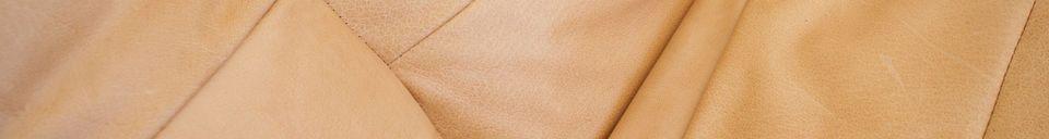 Materiali prima di tutto Poltrona in pelle Matignon