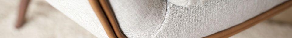 Materiali prima di tutto Poltrona in tessuto Jarvi