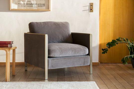 Una Poltrona in Tessuto Anni 60 dai Motivi retr/ò pib Poltrone Poltrona Lounge Hilda