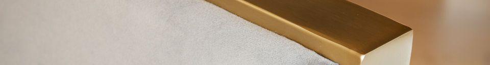 Materiali prima di tutto Poltrona in velluto Brompton