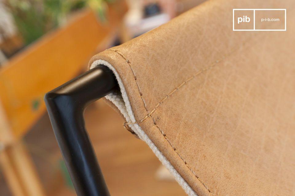 Una sedia che coniuga comfort