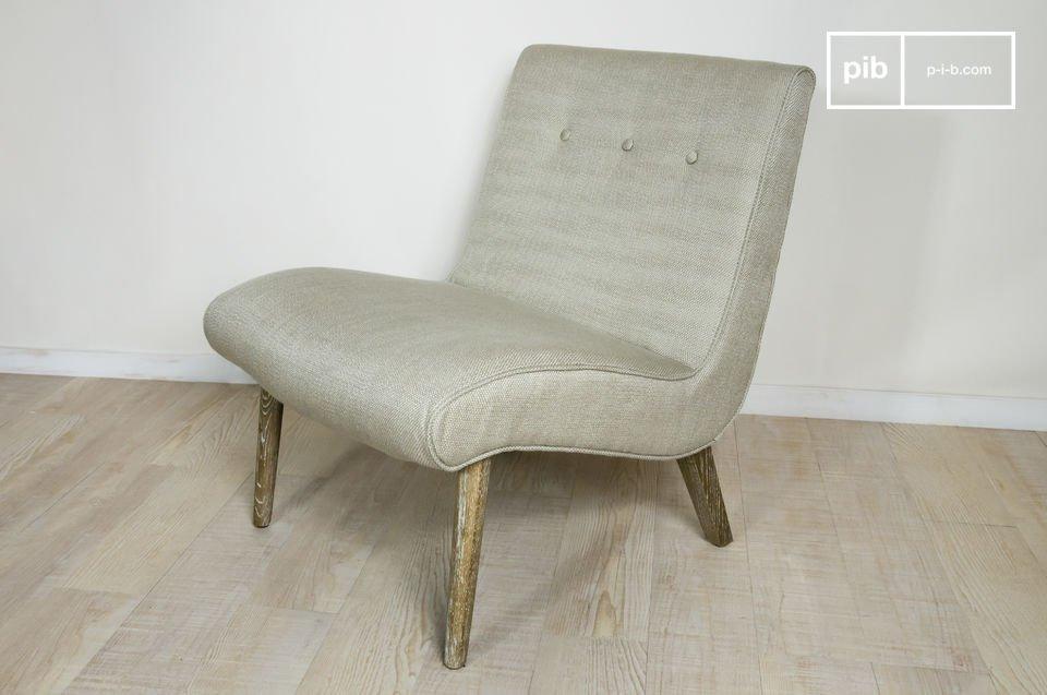 Robusta, comoda e dallo stile anni 50