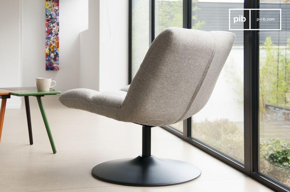 La sedia offre un grande comfort che vi permetterà di passare ore seduti senza accorgervene